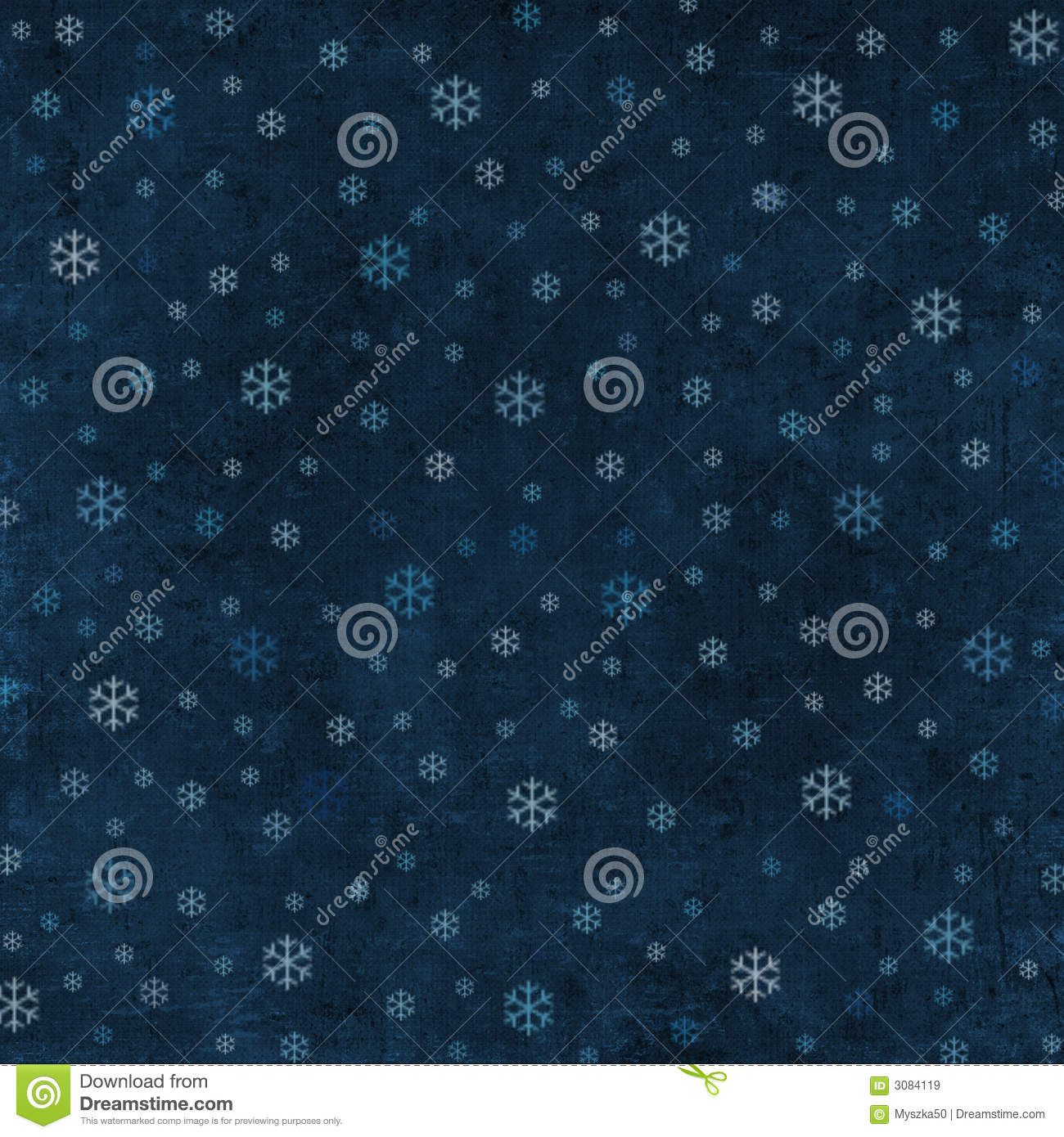 Grungy winter background