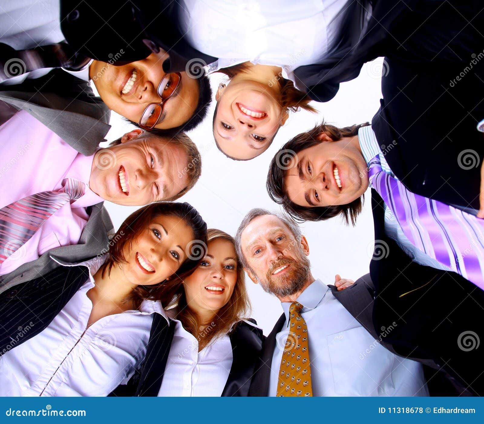 Grup biznesowych ludzie