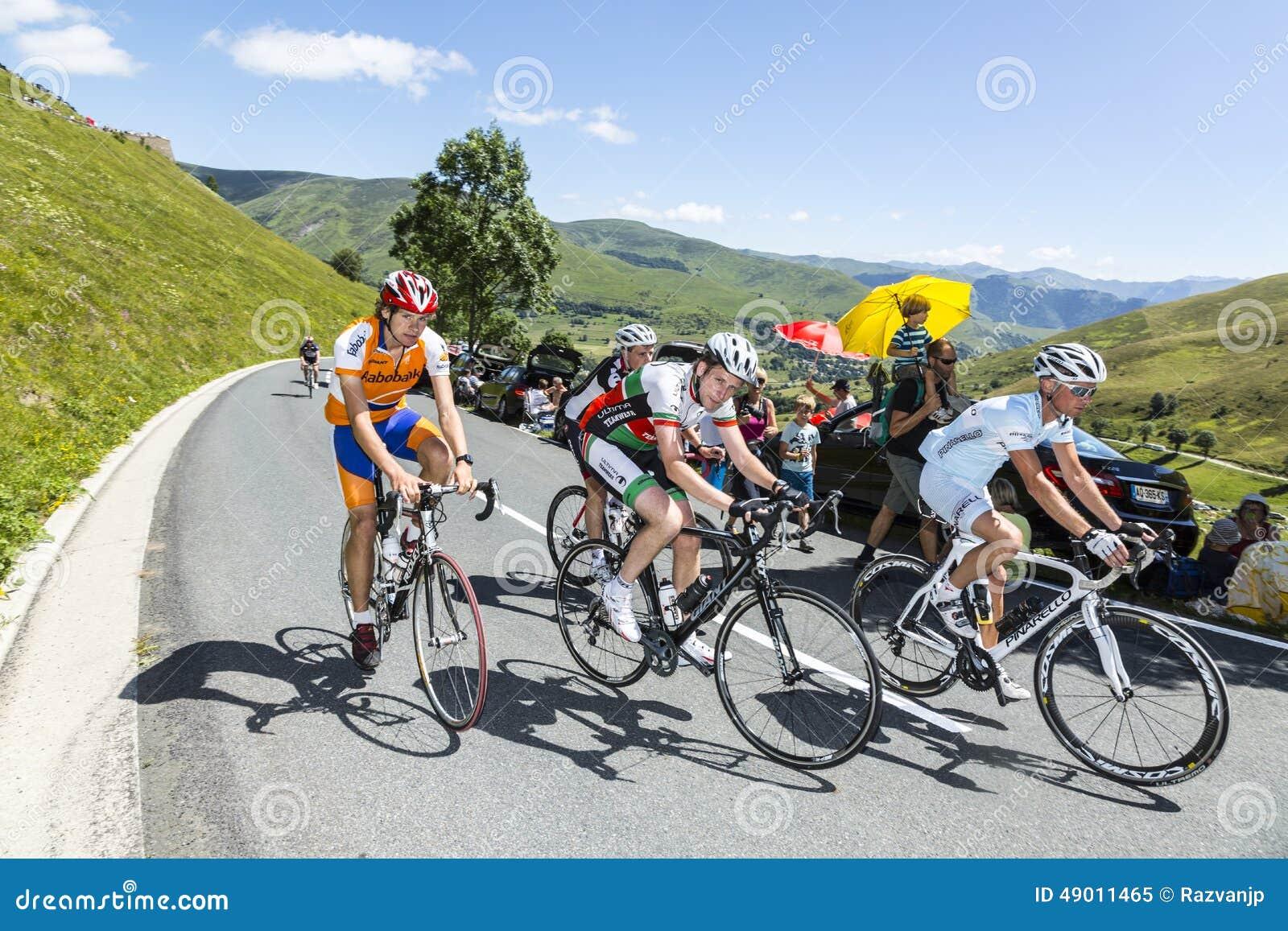 Grupa Amatorscy cykliści