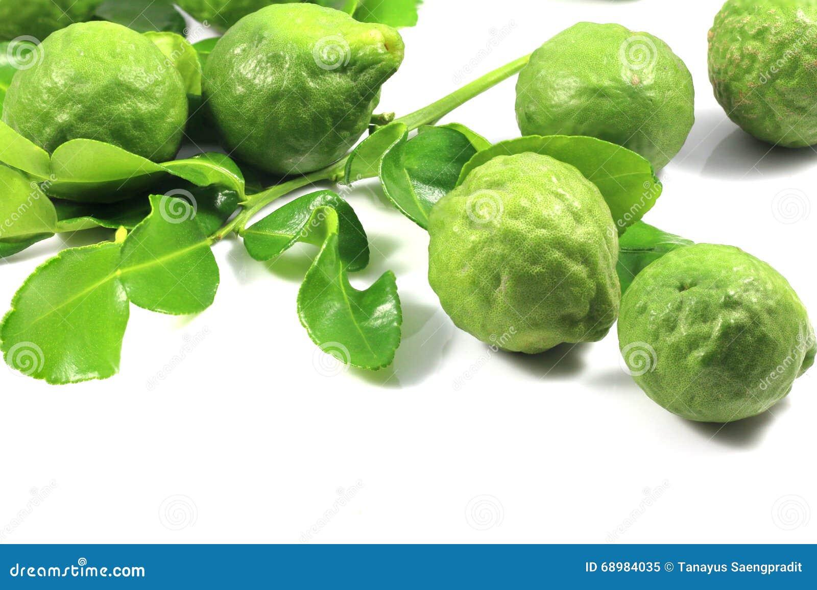 Grupa bergamota i liść