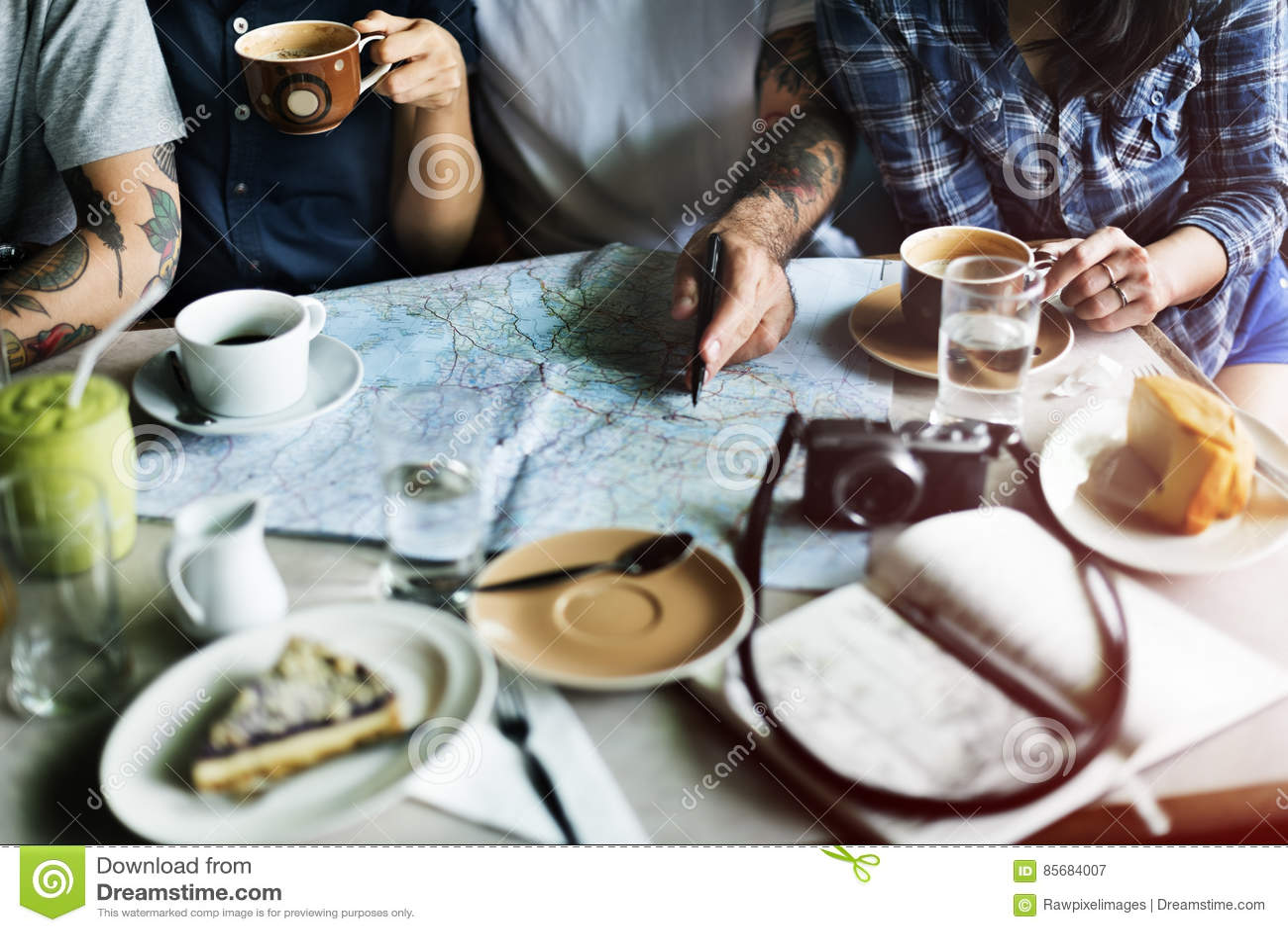 Grupa Ludzi Pije Kawowego pojęcie