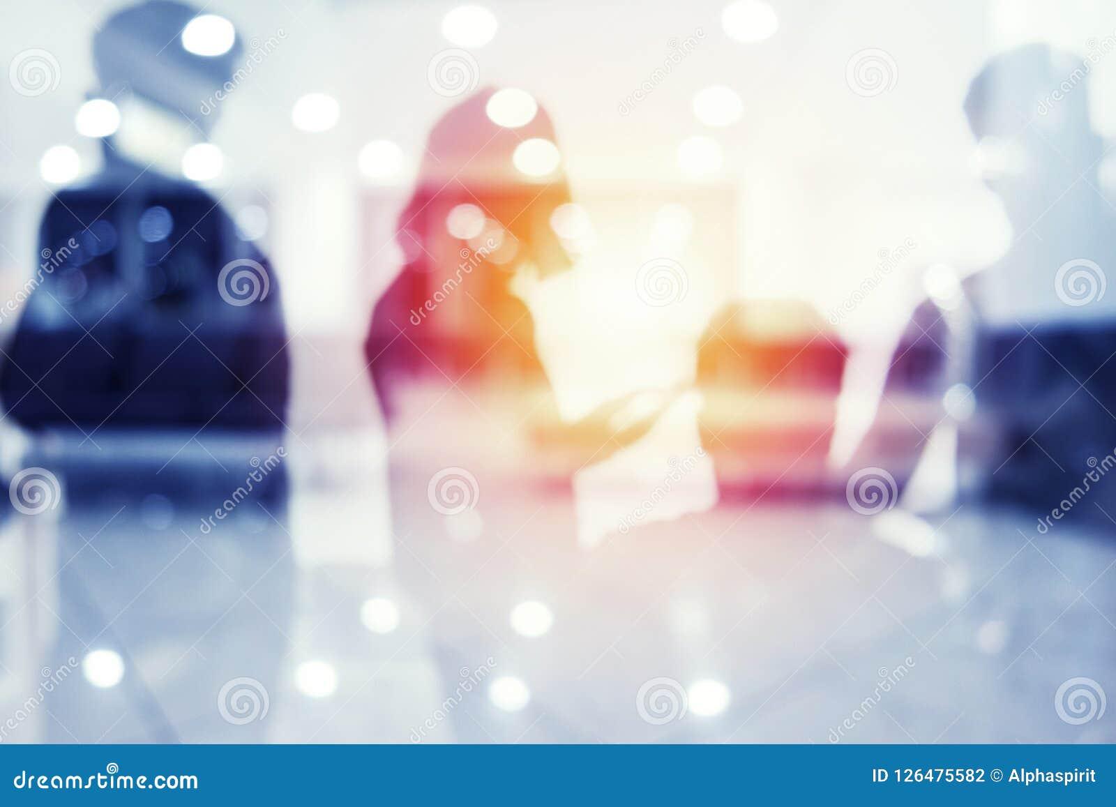 Grupa patrzeje dla przyszłości partner biznesowy Pojęcie korporacyjny i początkowy