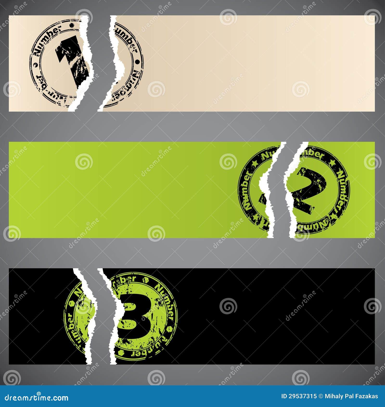 Grupo da bandeira de Infographic