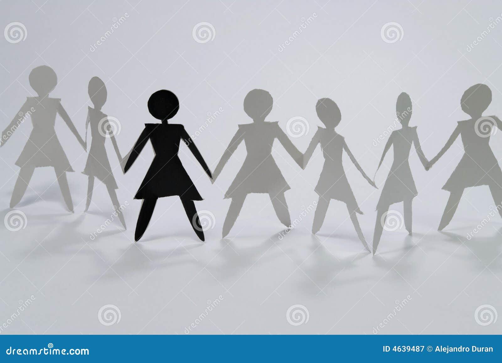 Grupo da mulher mim