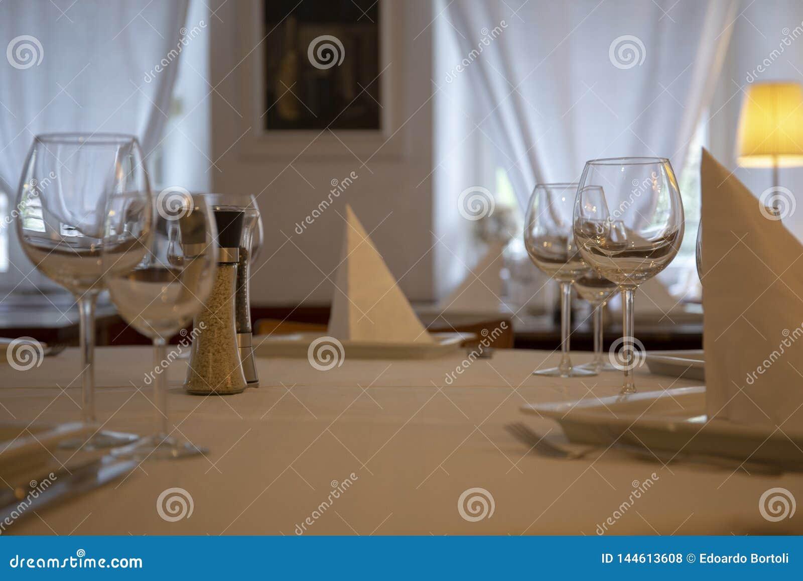 Grupo da tabela do restaurante
