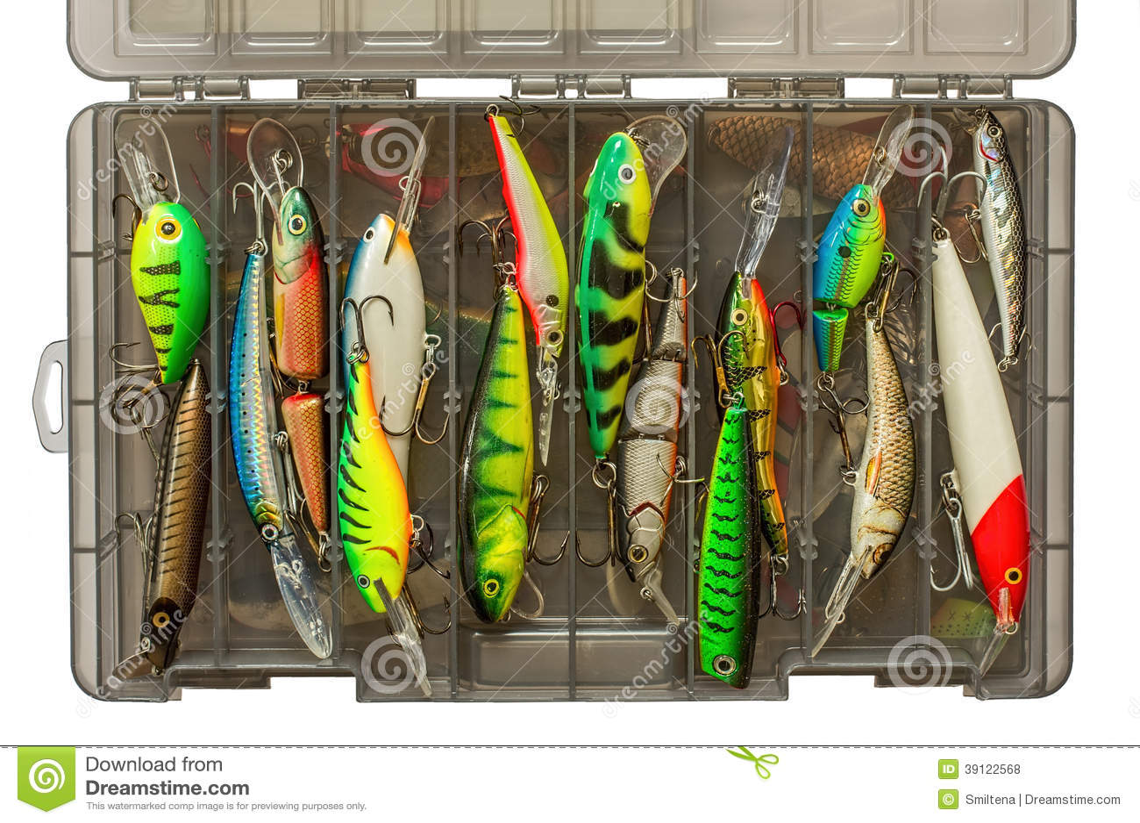 Grupo de atrações da pesca