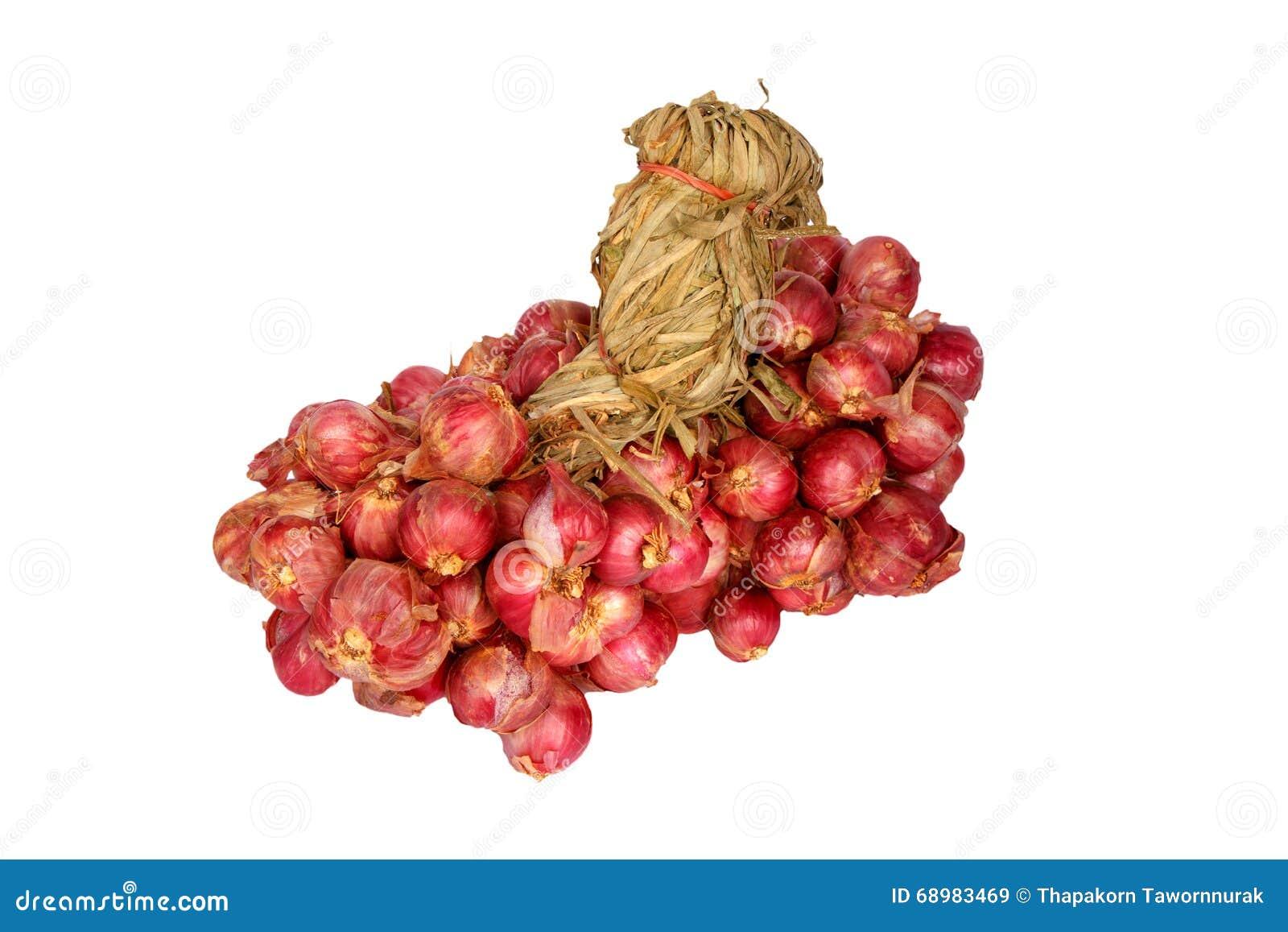 Grupo de cebolla roja