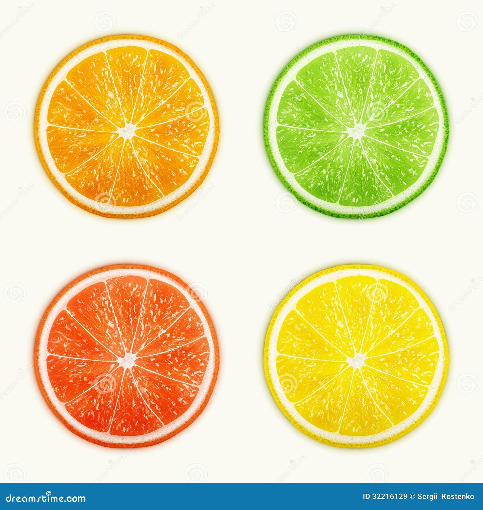 Grupo De Citrinas Laranja Cal Toranja Limo Imagens