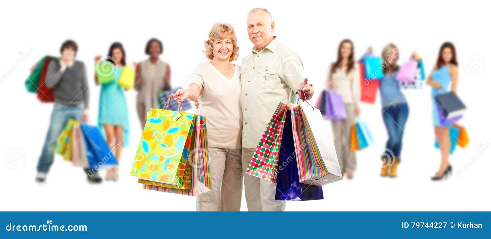 Grupo de clientes de las compras