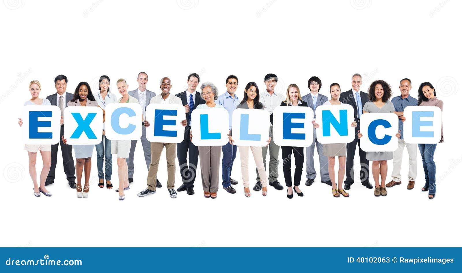Grupo de executivos que guardam a excelência da palavra