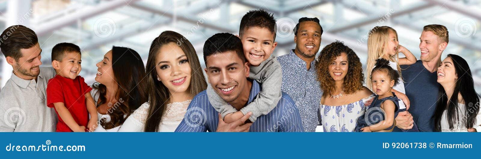 Grupo de famílias