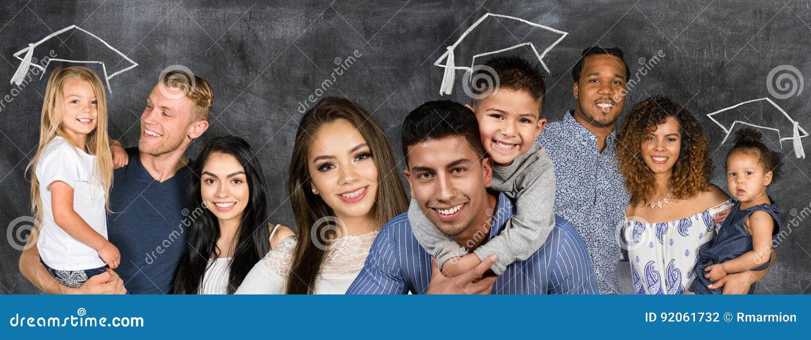 Grupo de familias