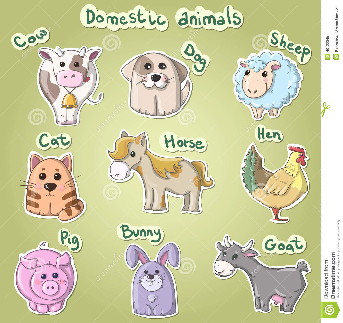 images of domestic animals for kids image information