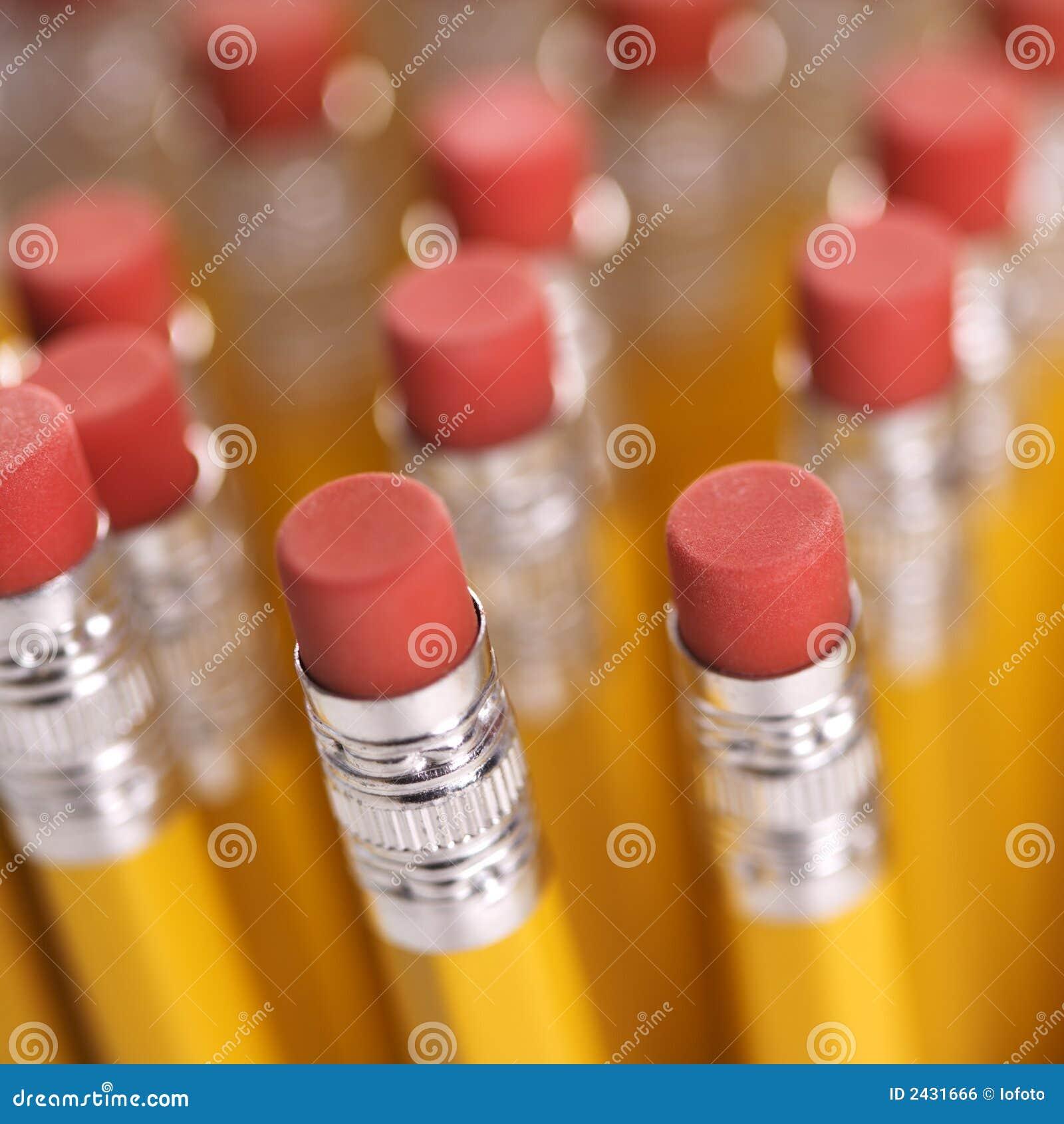 Grupo de lápis.