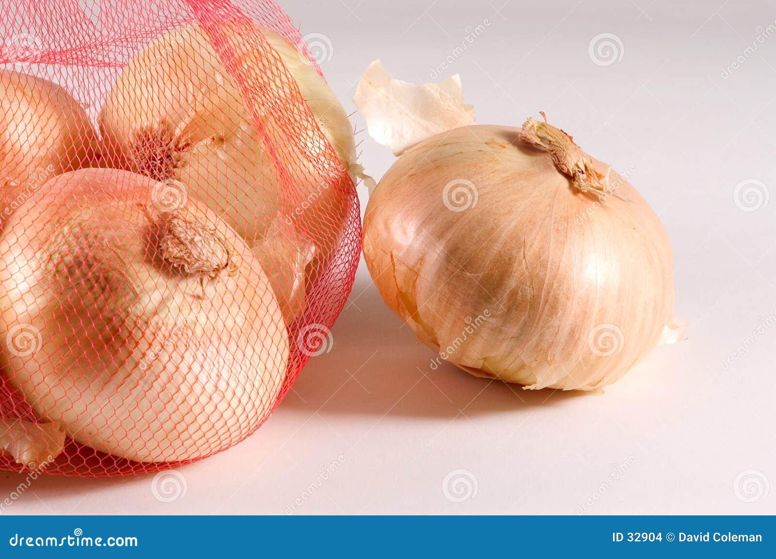 Download Grupo de la cebolla foto de archivo. Imagen de sabor, bolso - 32904