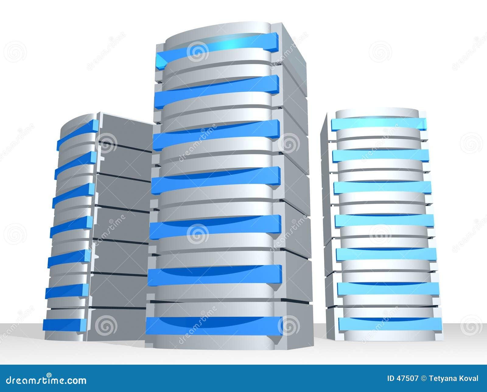 Grupo de los servidores 3D