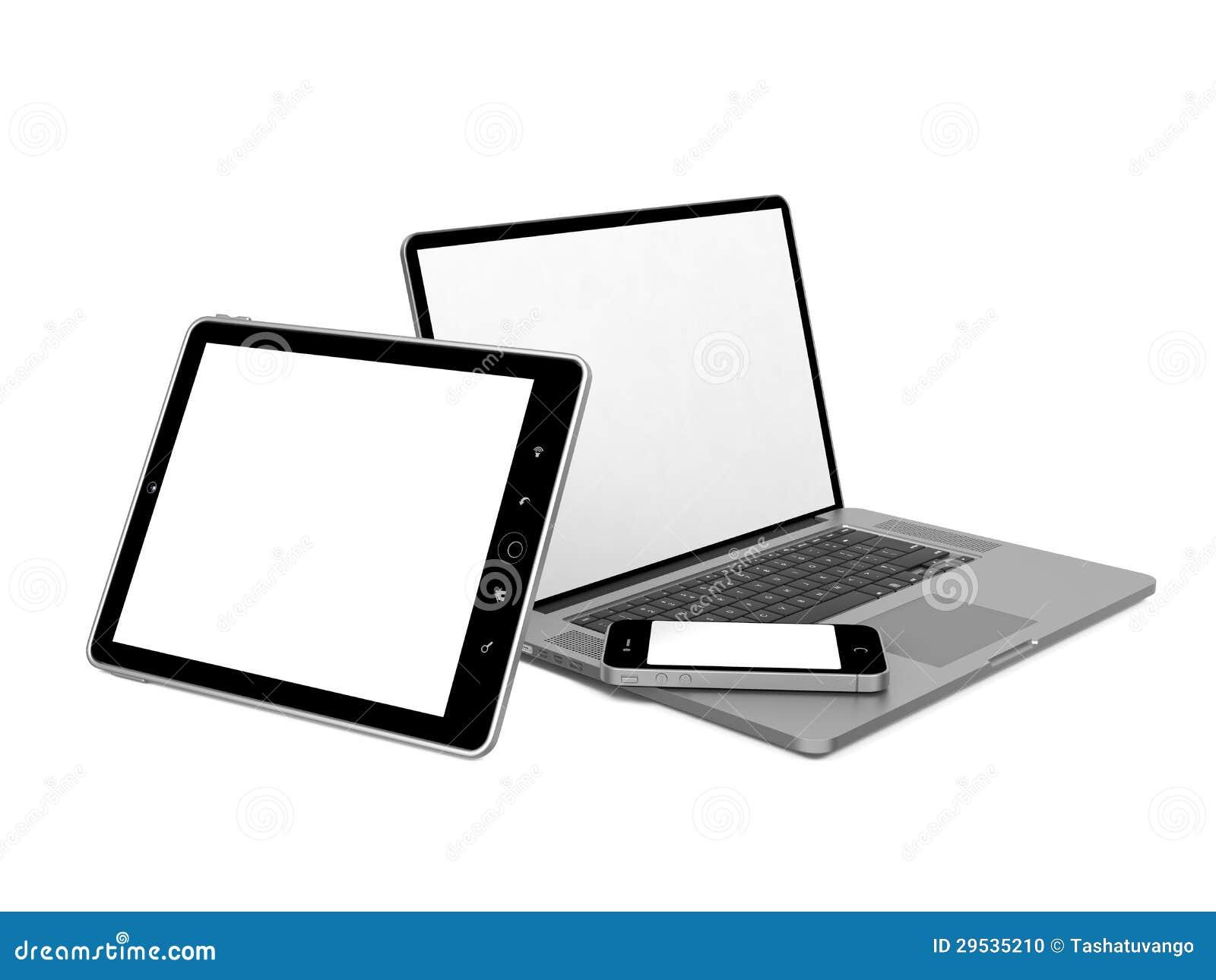 Grupo de material informático.