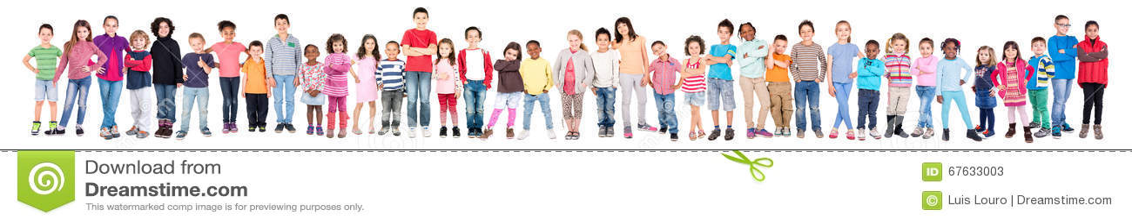 Grupo de niños