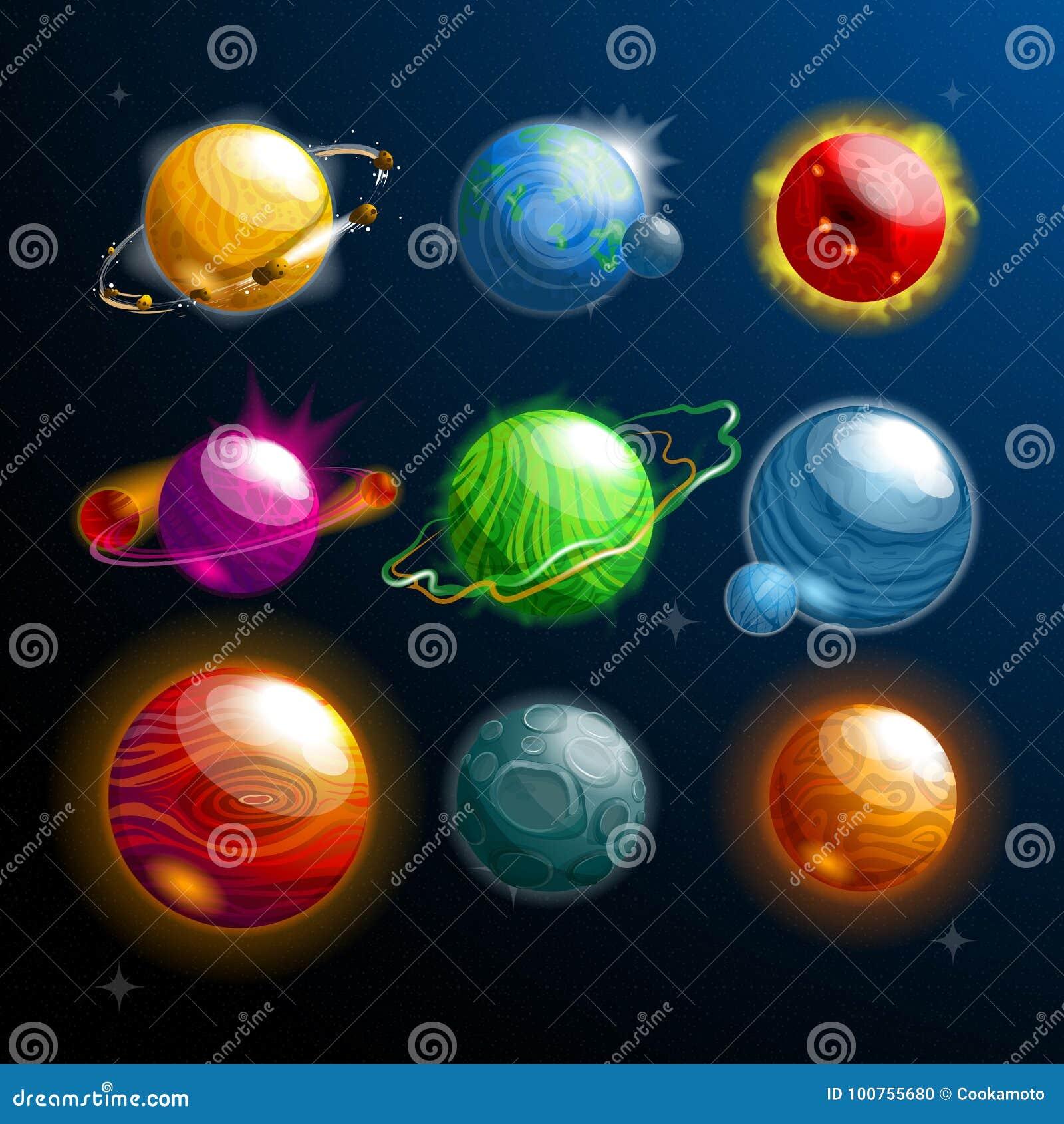 Grupo de planetas ou de estrelas isoladas, globo cosmos