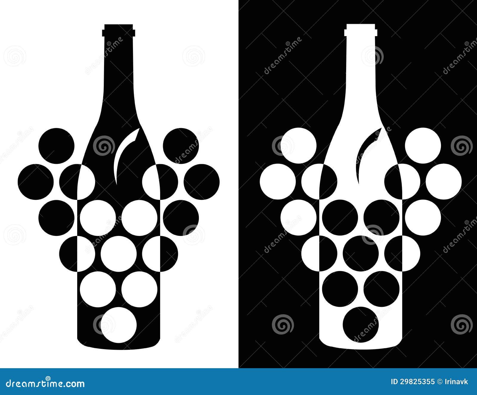 Grupo de símbolo do vinho