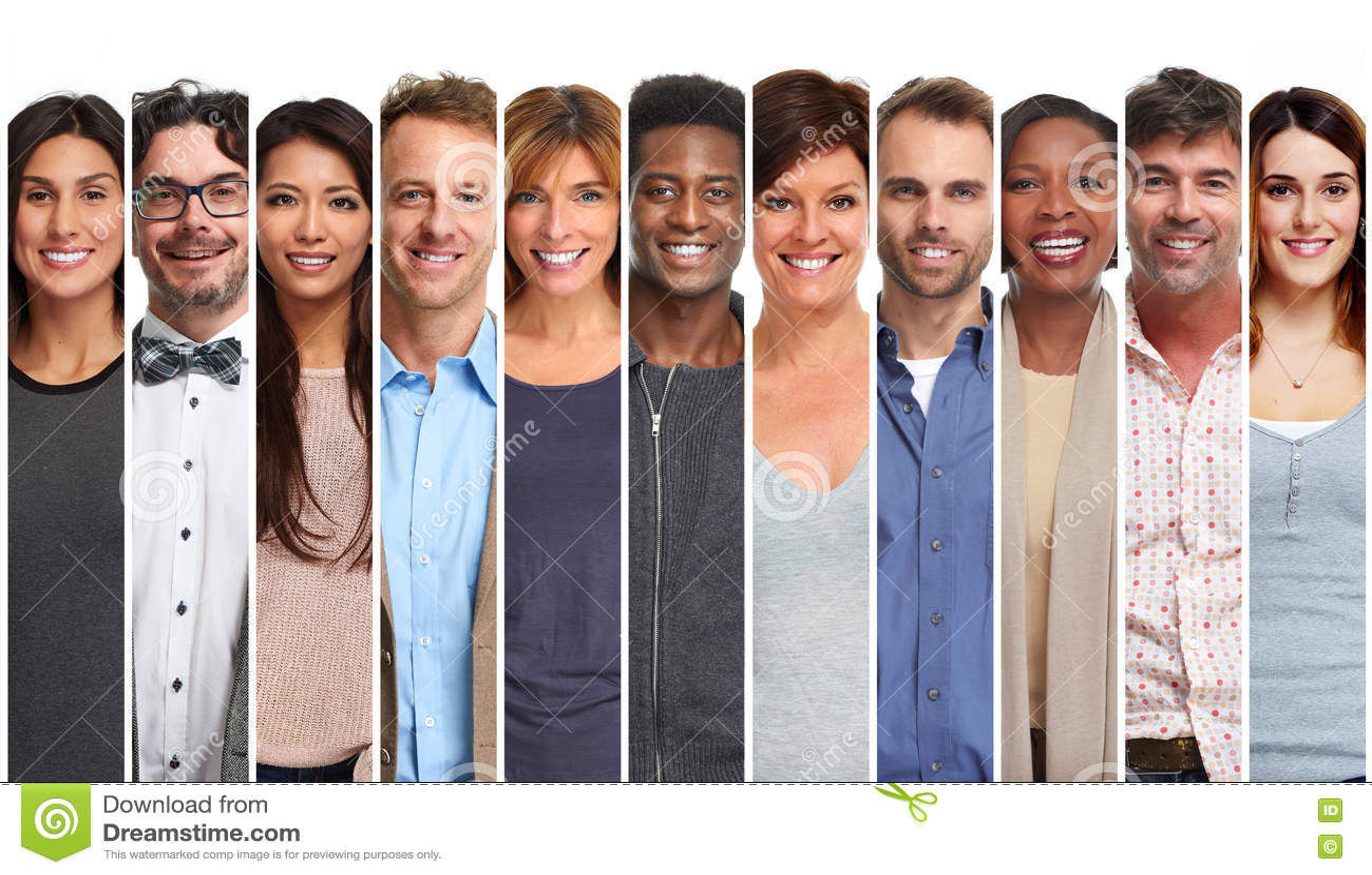 Grupo de sorriso dos povos