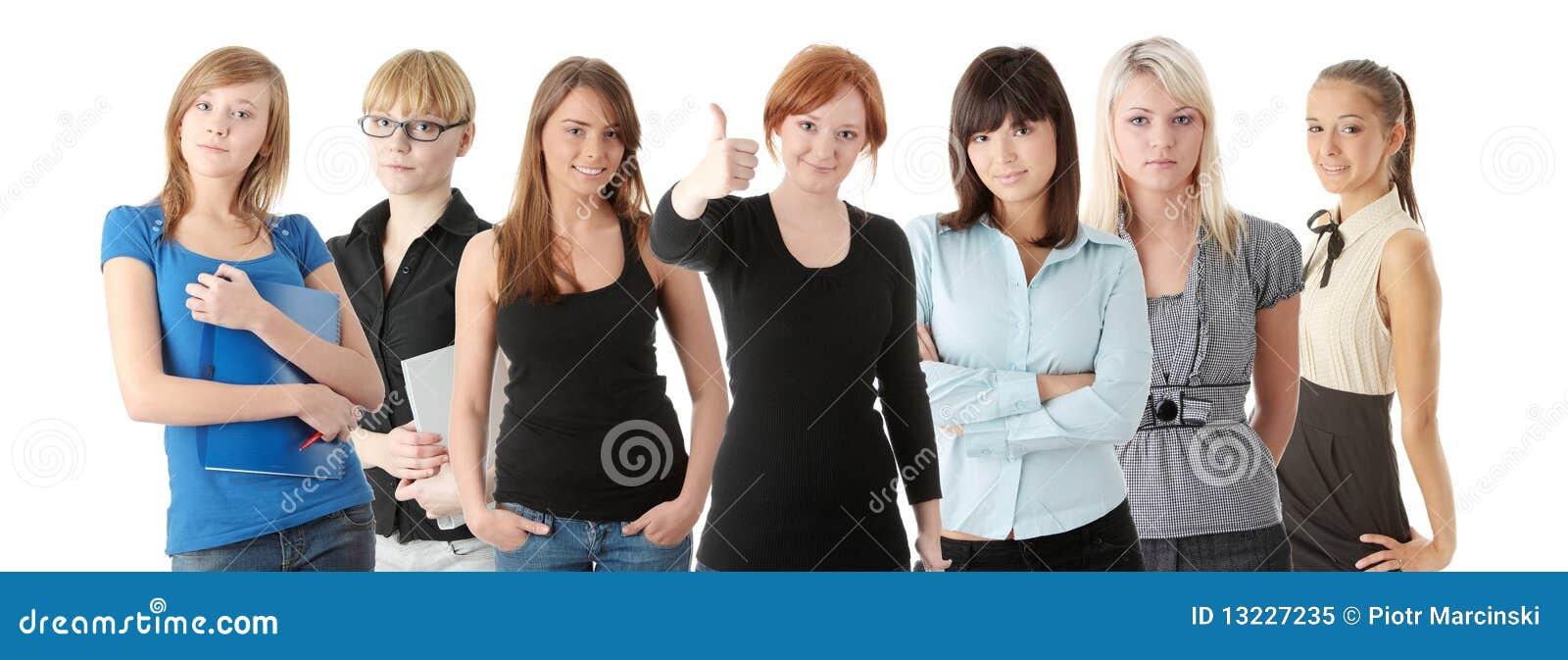 Grupo de womans adultos