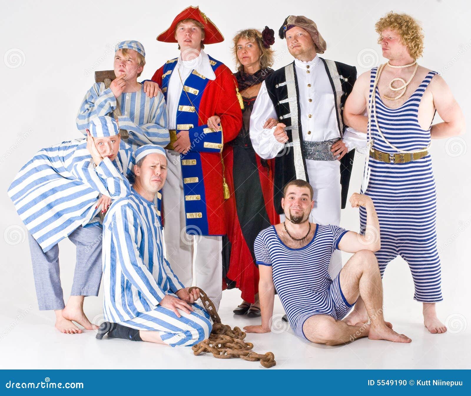 Grupo del teatro