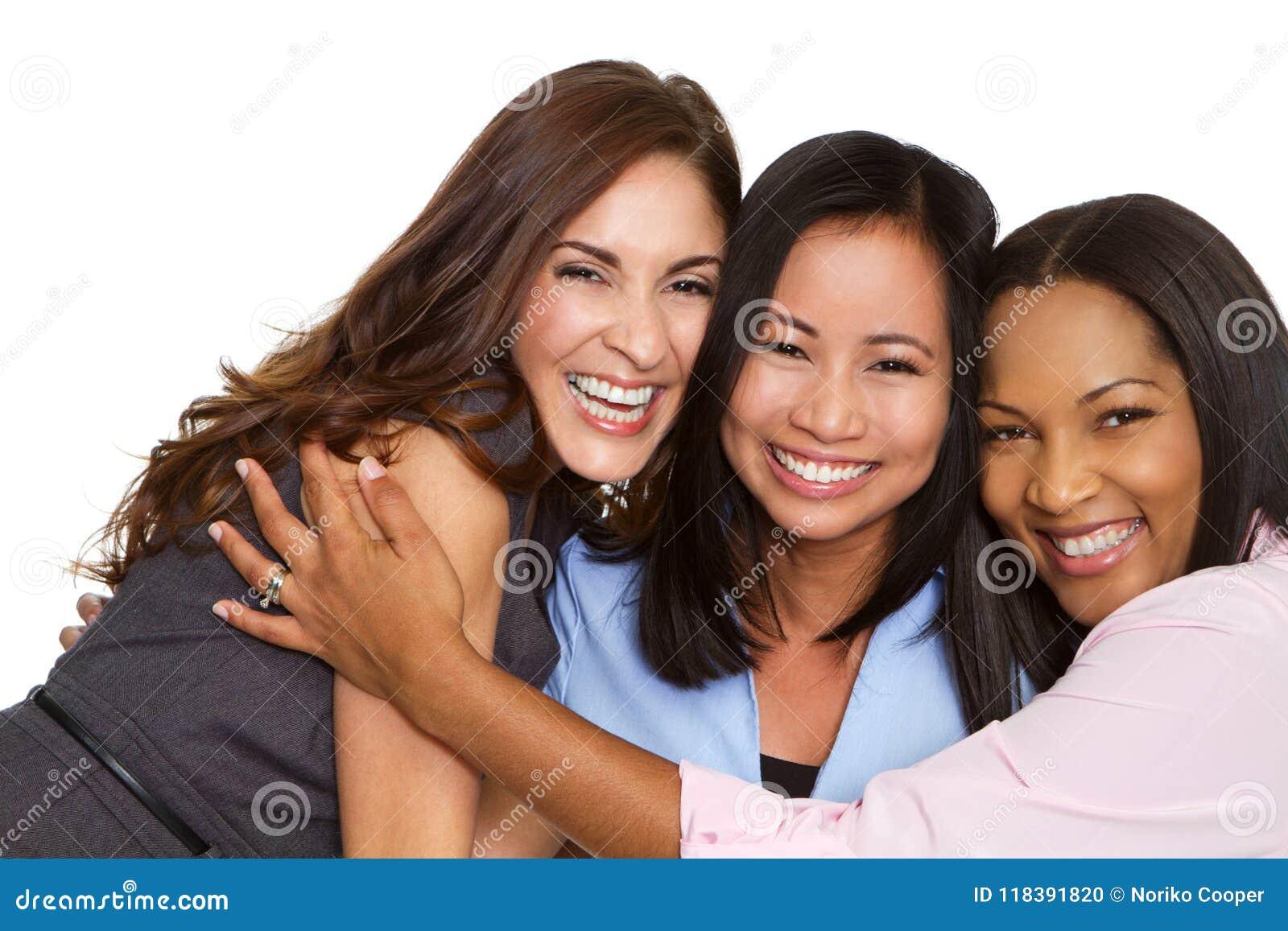 Grupo diverso de mujeres de negocios