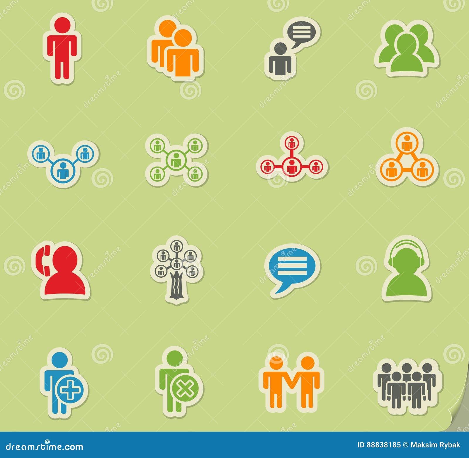 Grupo do ícone da comunidade