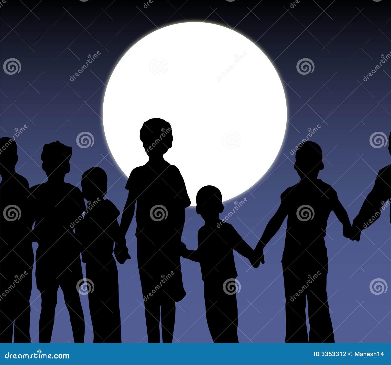 Grupo dos miúdos