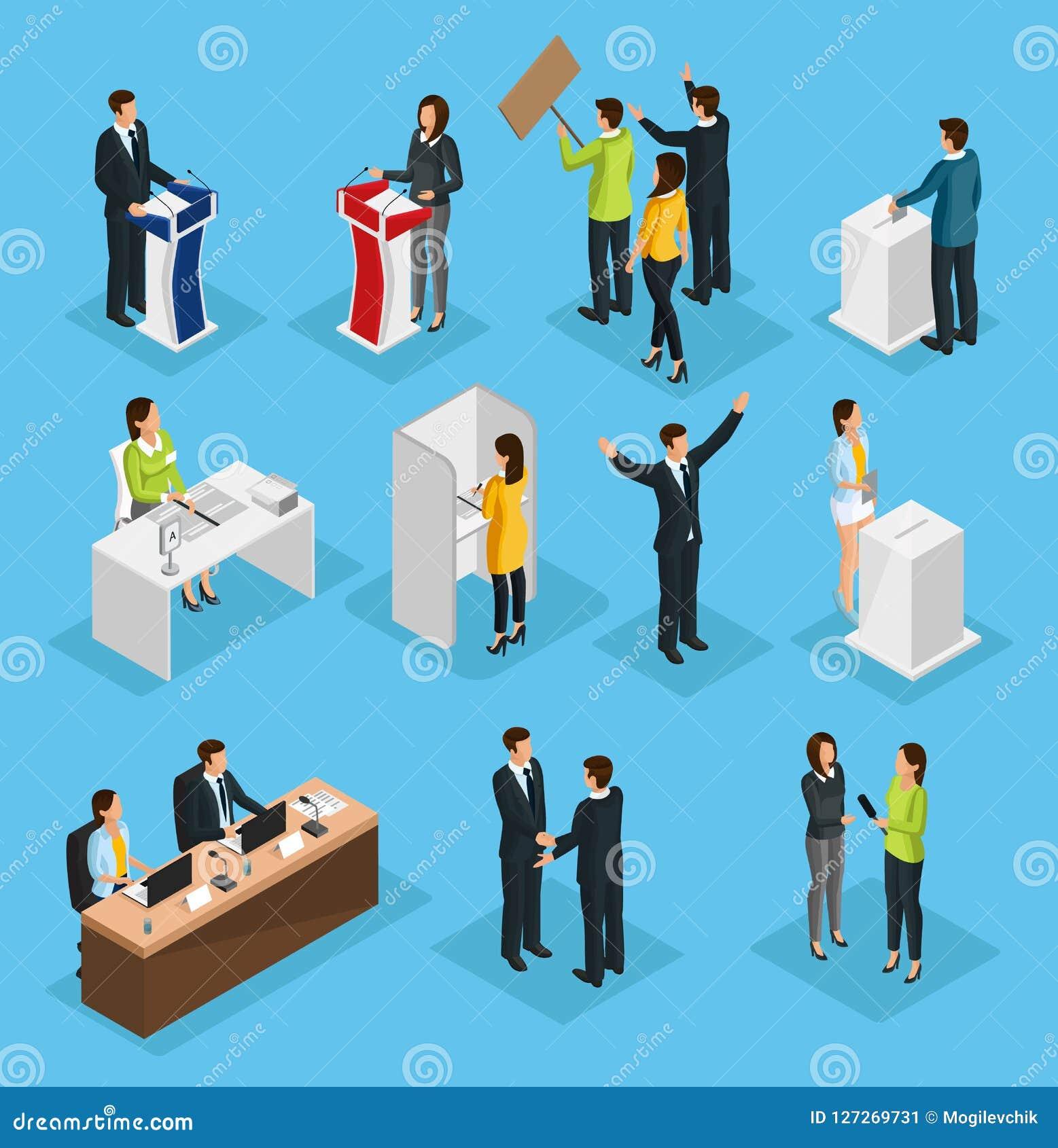 Grupo isométrico da eleição dos povos