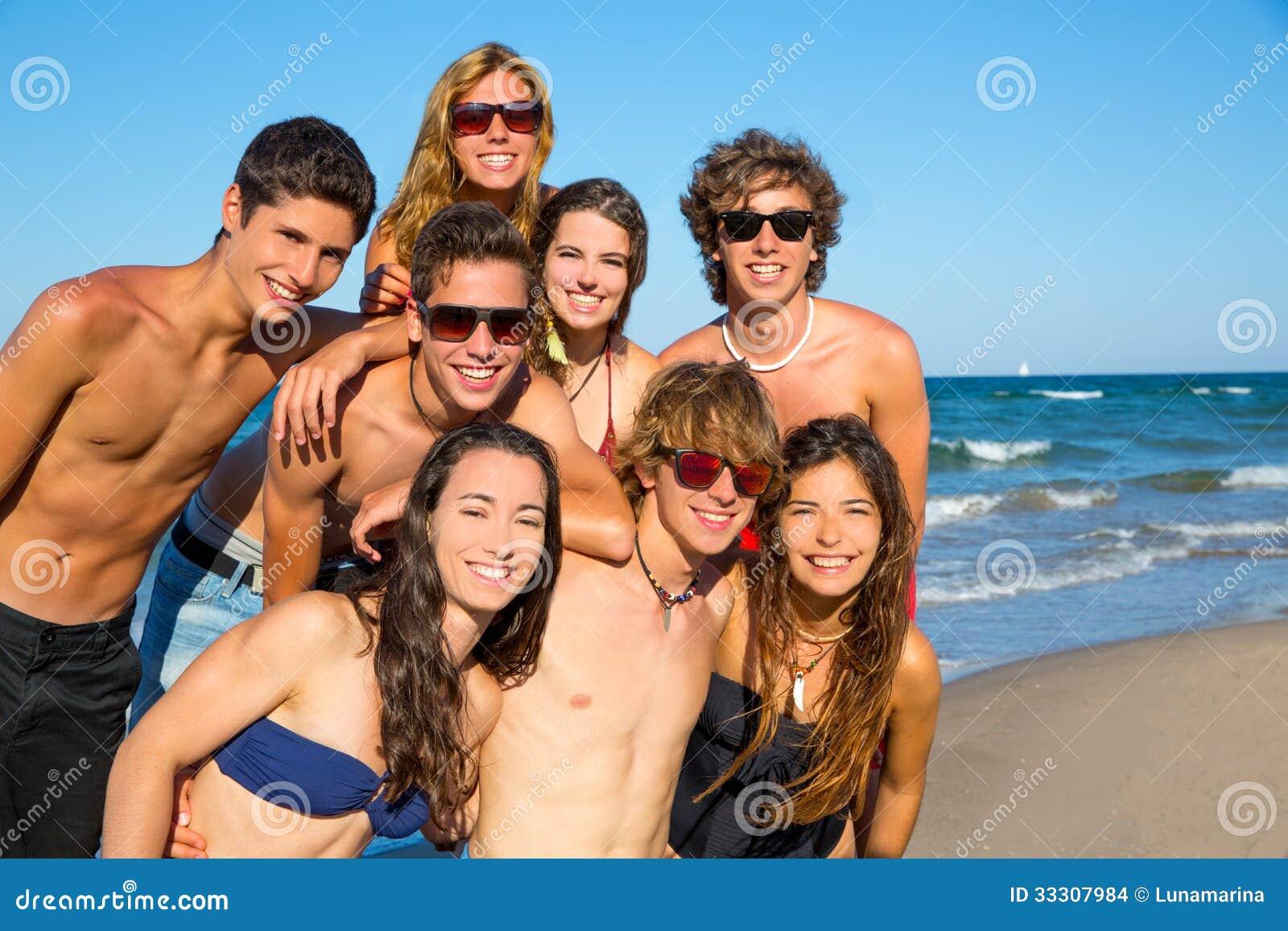 Playa sincera pre adolescente