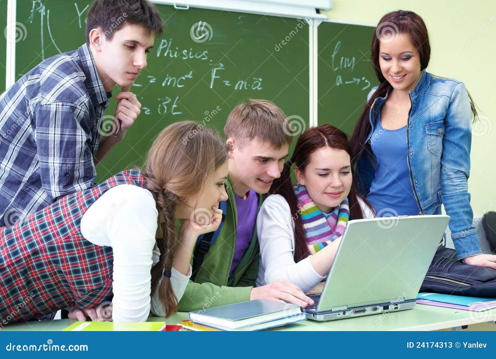 Grupowy laptopu uczni target4469_1_