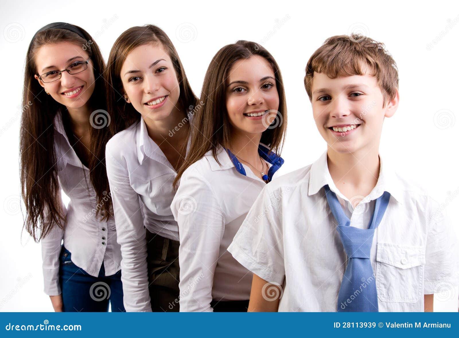 Grupp av deltagare