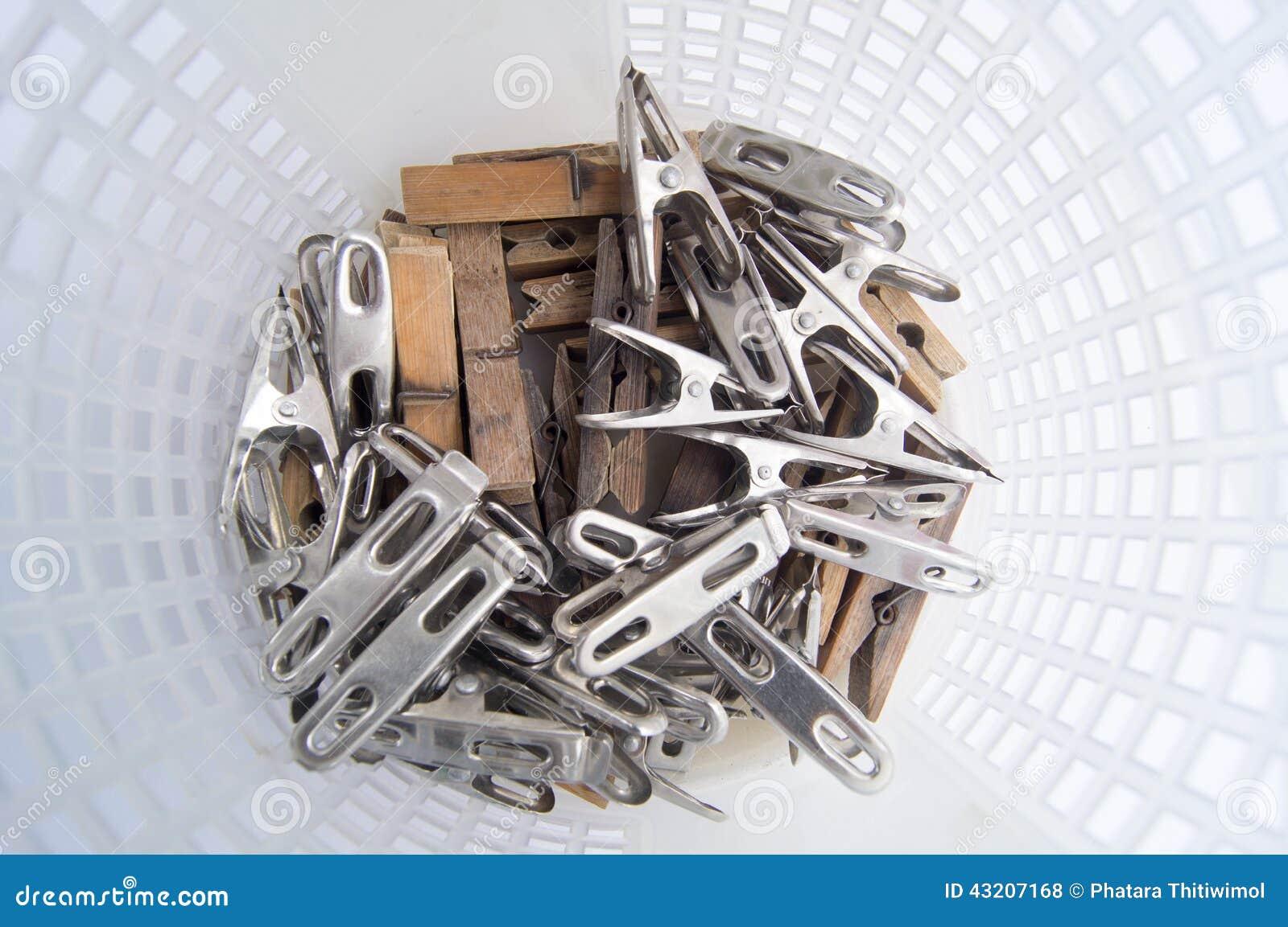 Download Grupp av klädnypor arkivfoto. Bild av objekt, grupp, trä - 43207168