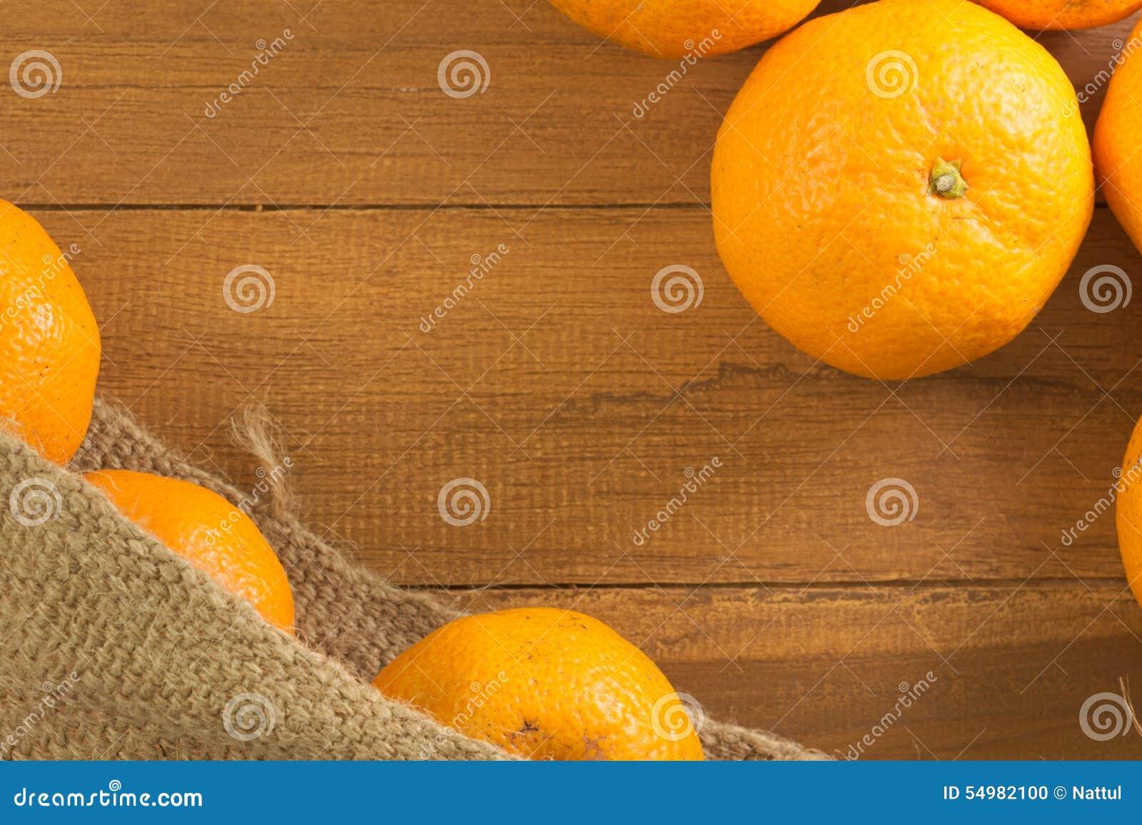 Grupp av mandarinen