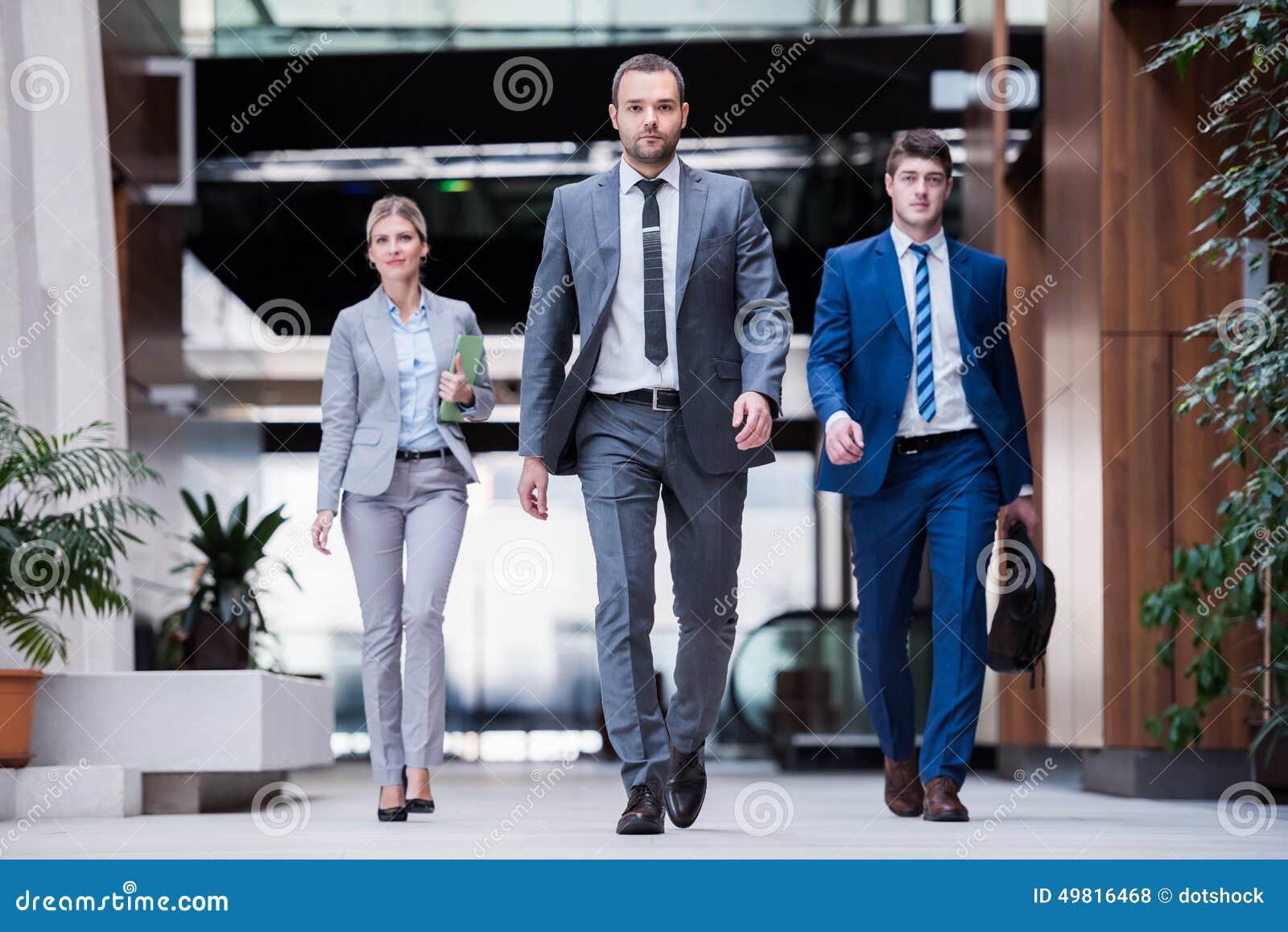 Grupp för affärsfolk