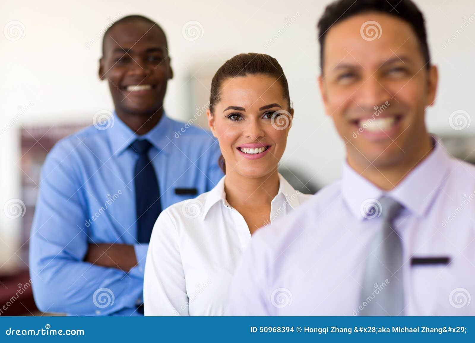 Gruppaffärsfolk