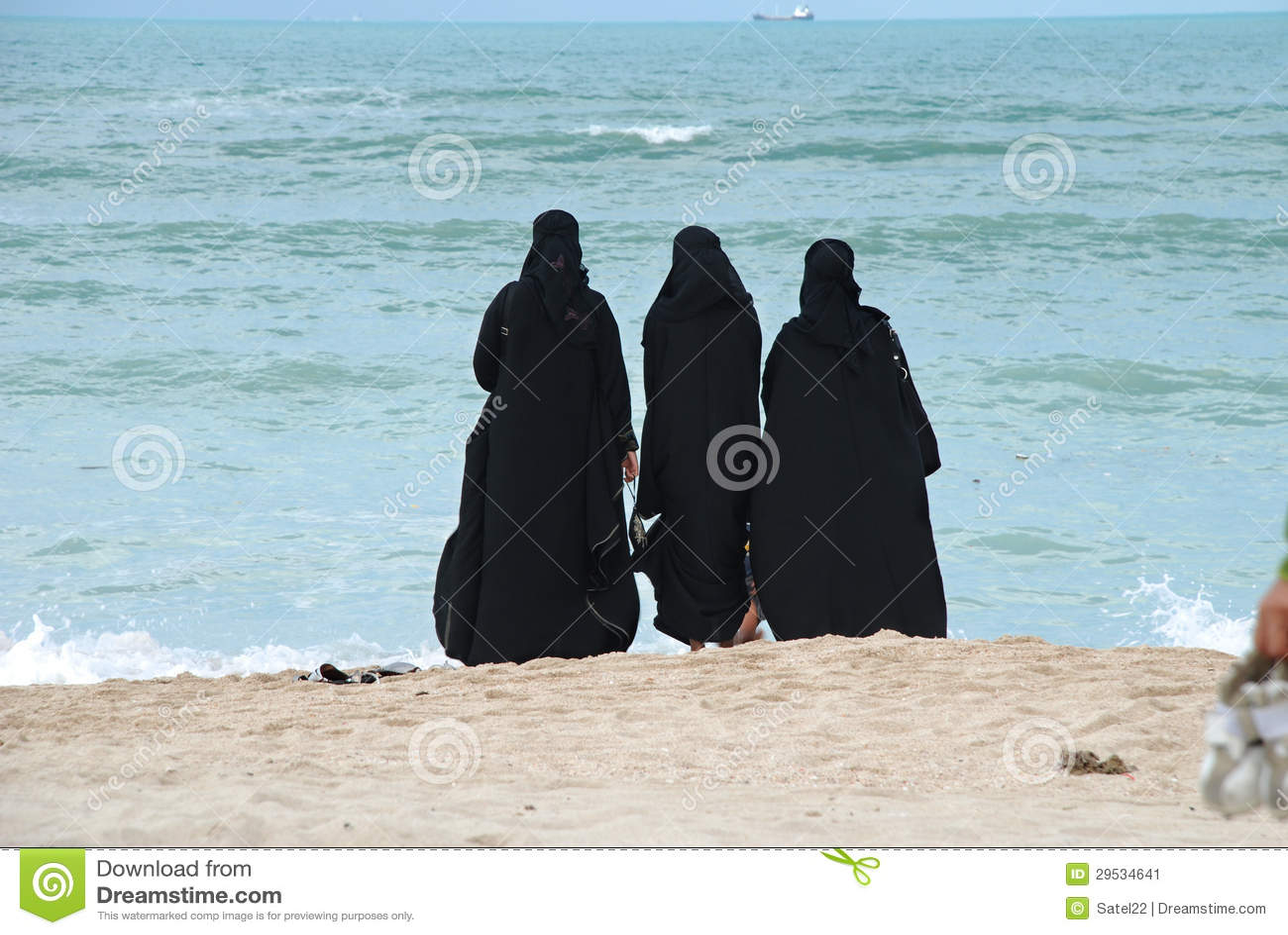 Gruppe arabische Frauen