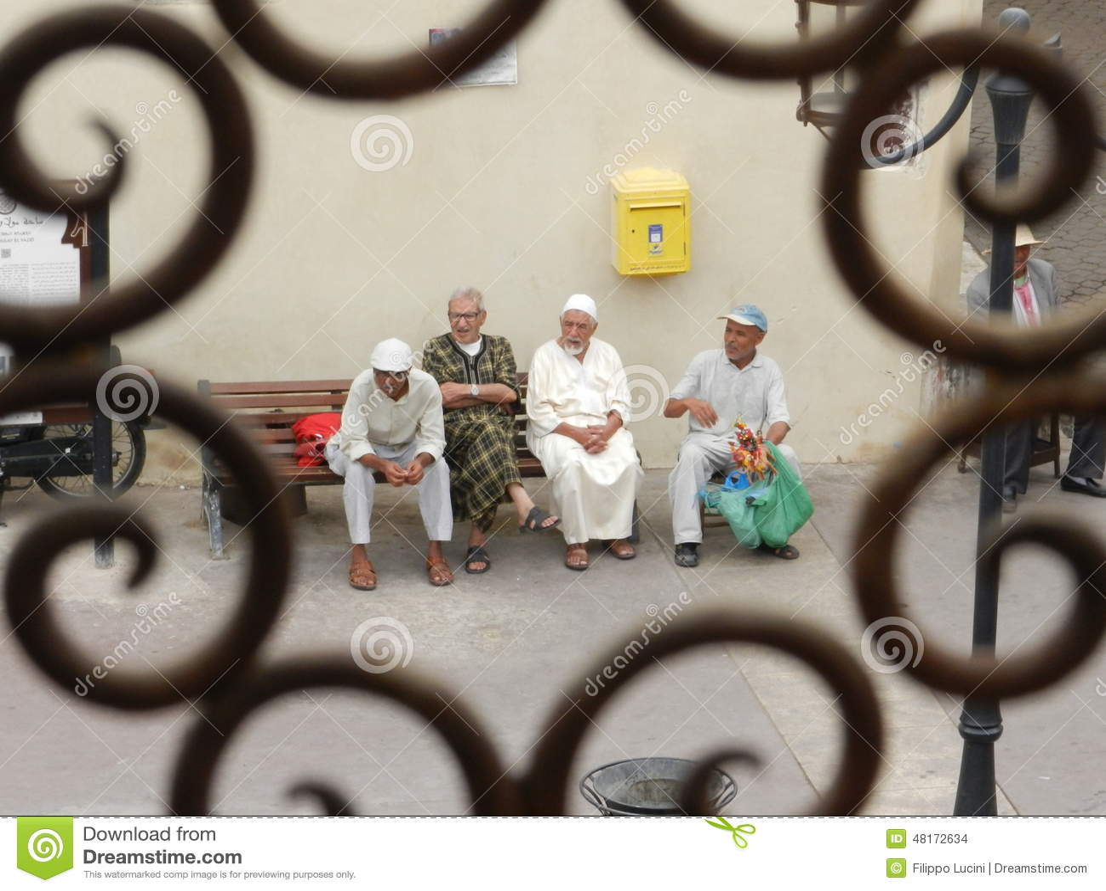 marokkanische männer