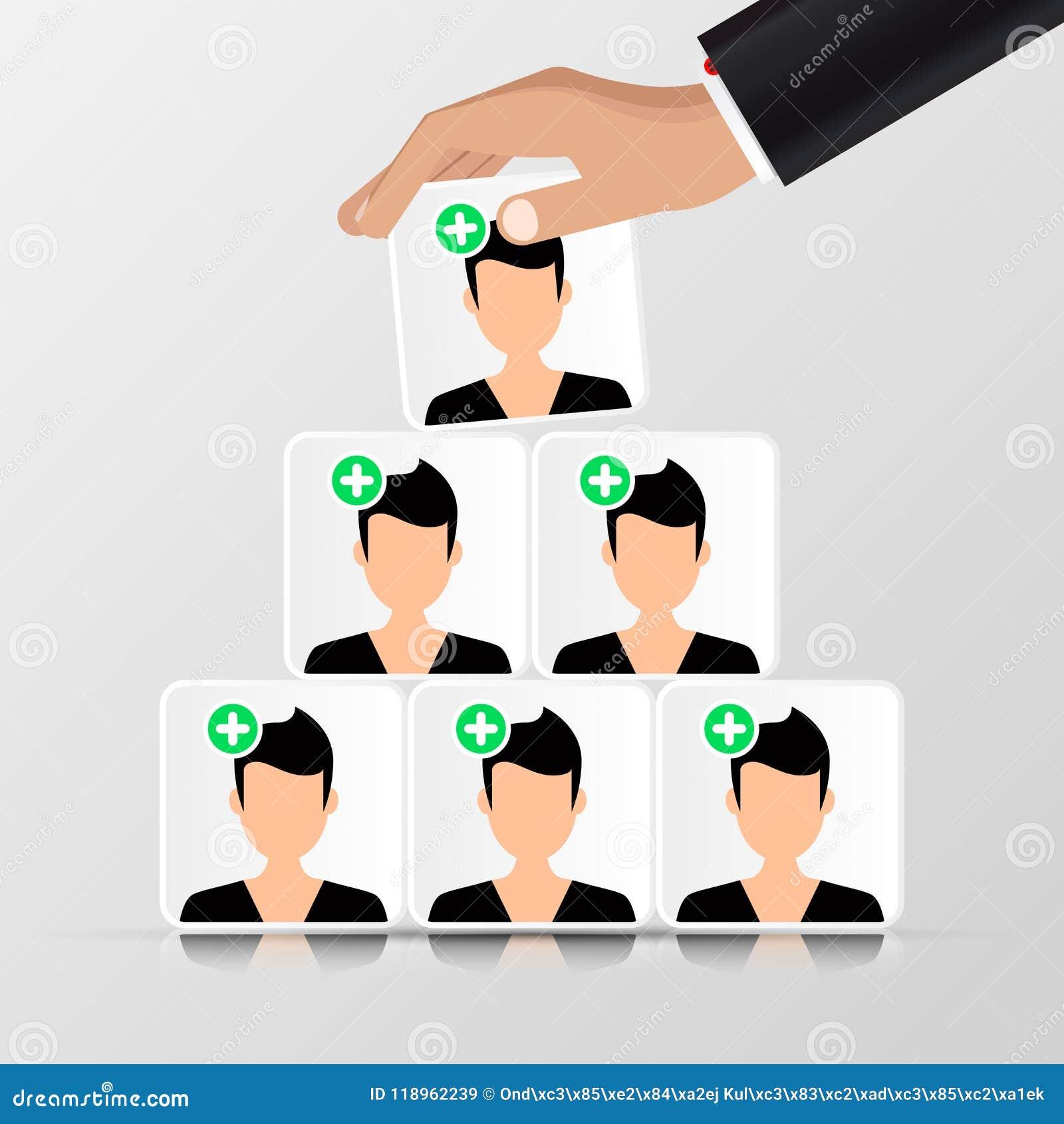Gruppe von Personen Die goldene Taste oder Erreichen für den Himmel zum Eigenheimbesitze pyramide organisation