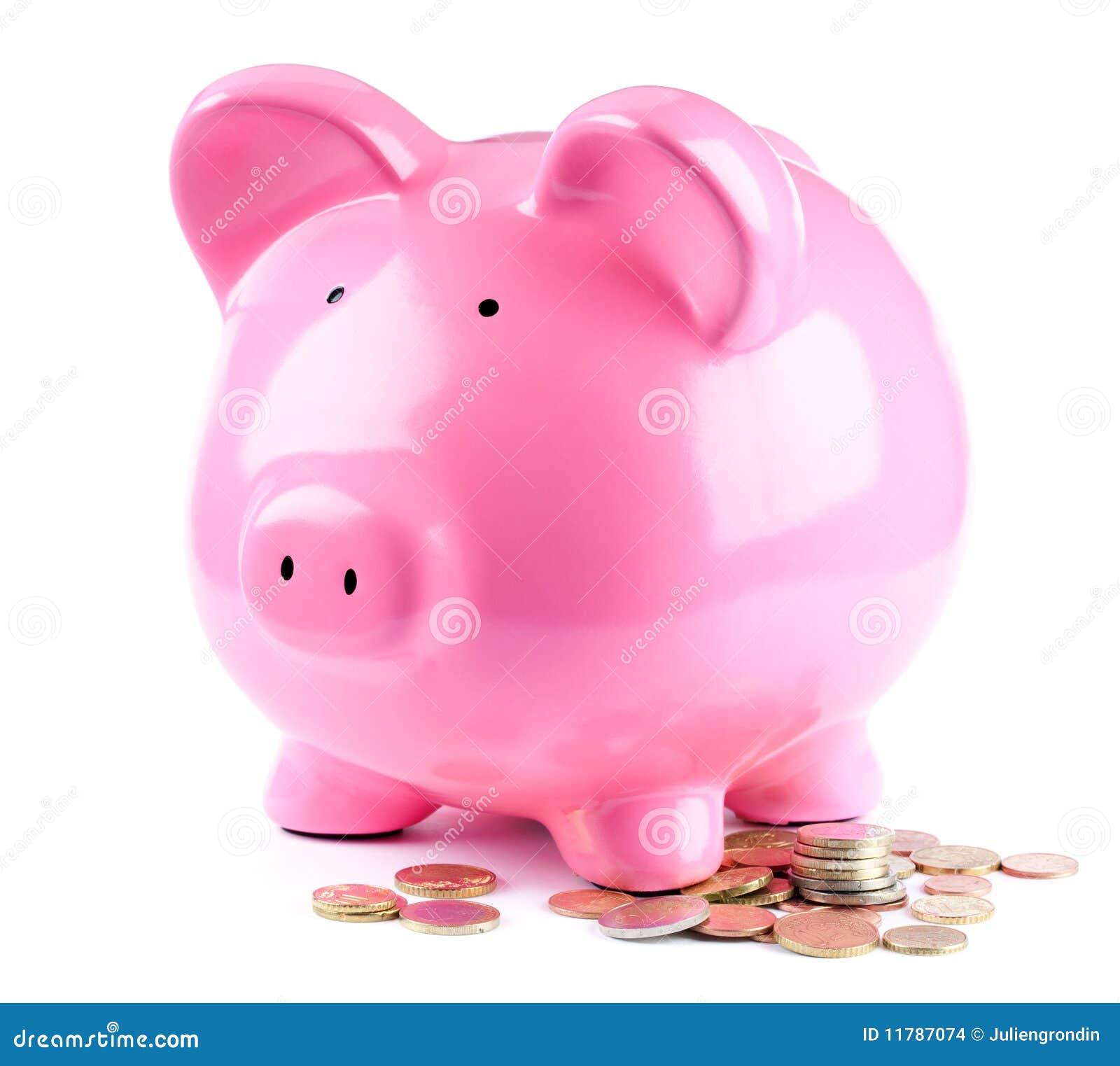 Gruppen coins piggy