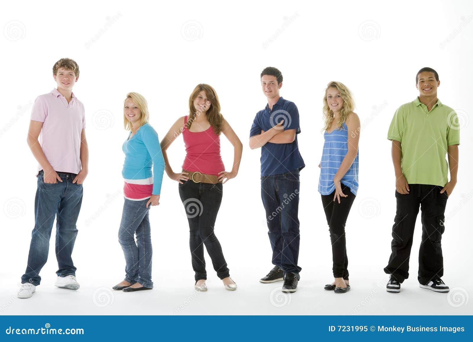 Gruppen sköt tonåringar