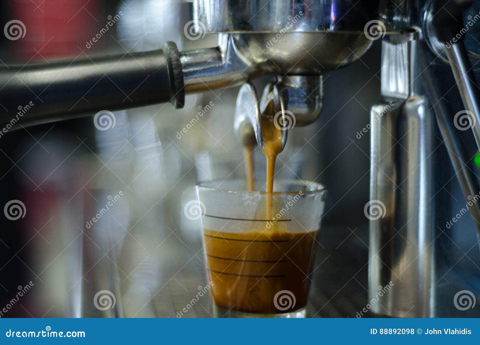 Gruppenanführerkaffeemaschine