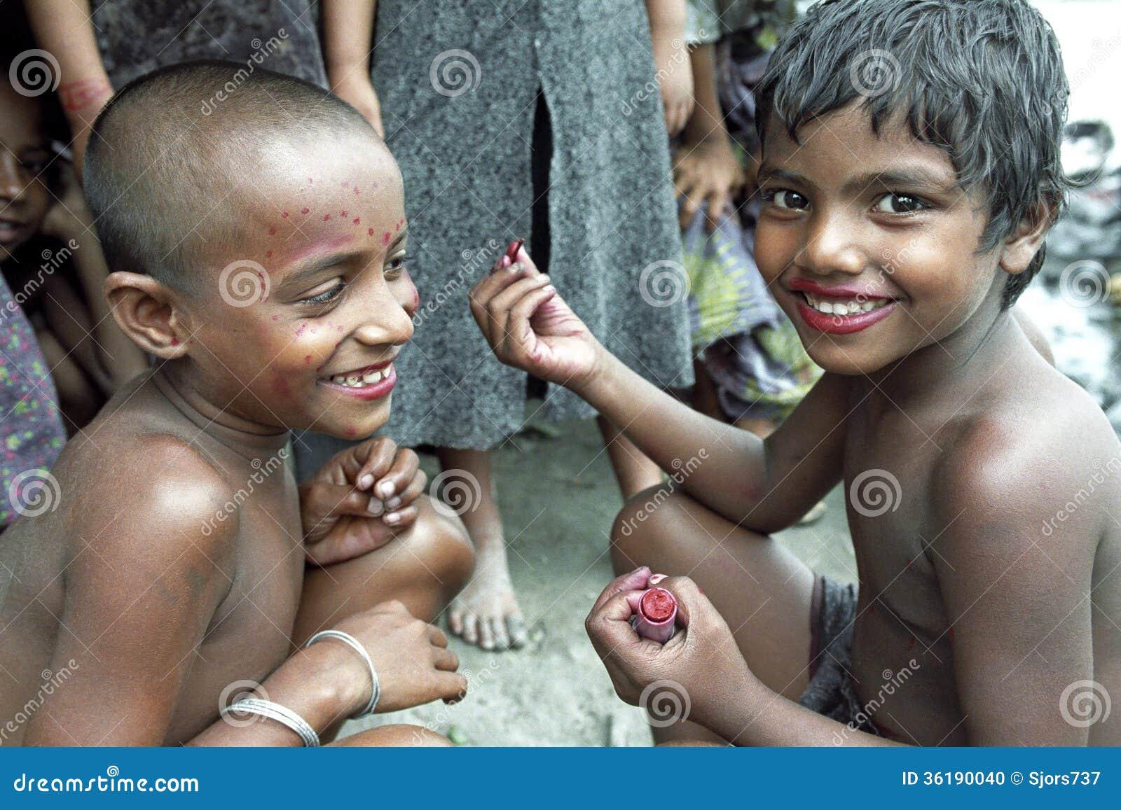 Dhaka Mädchen