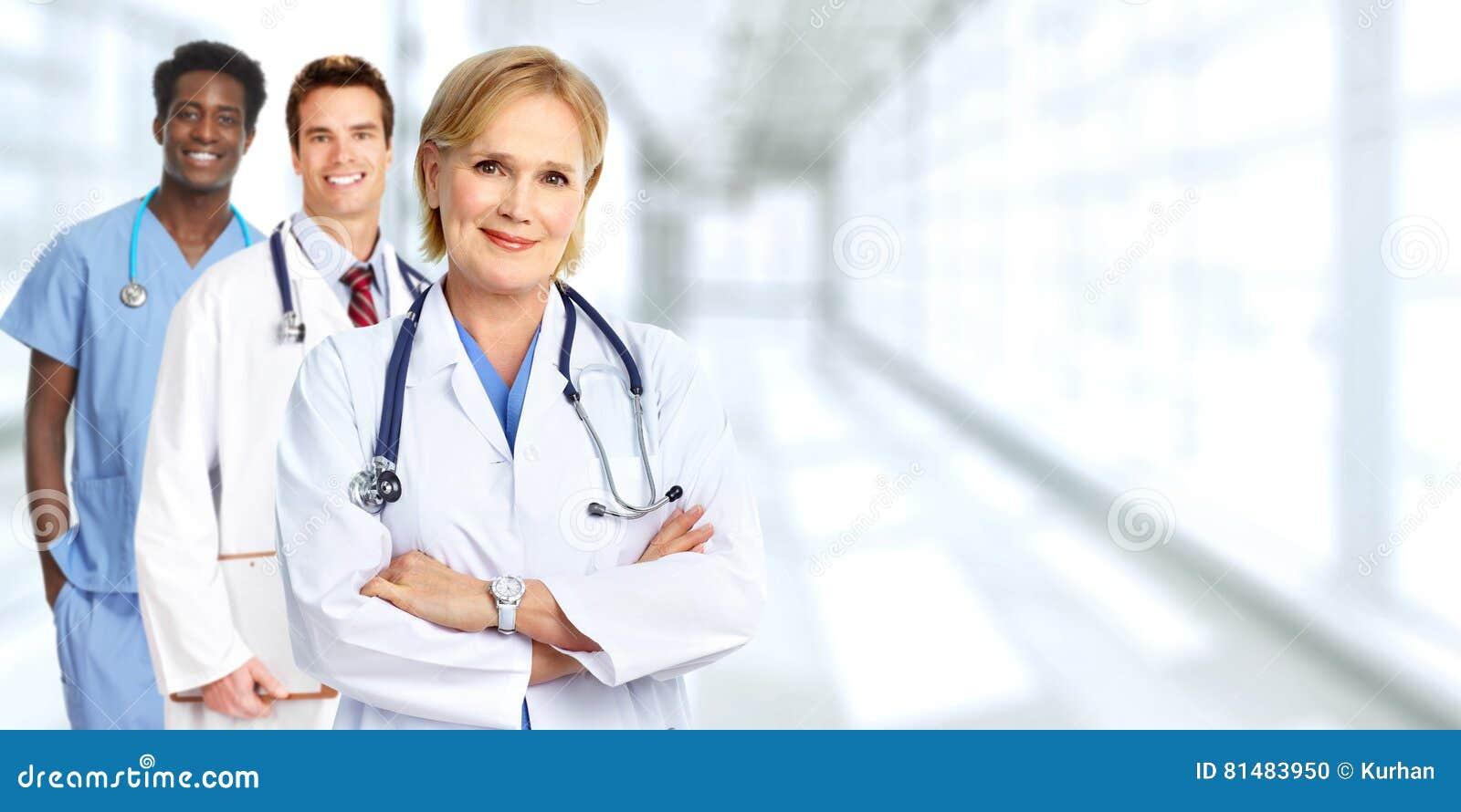 Gruppo di medici