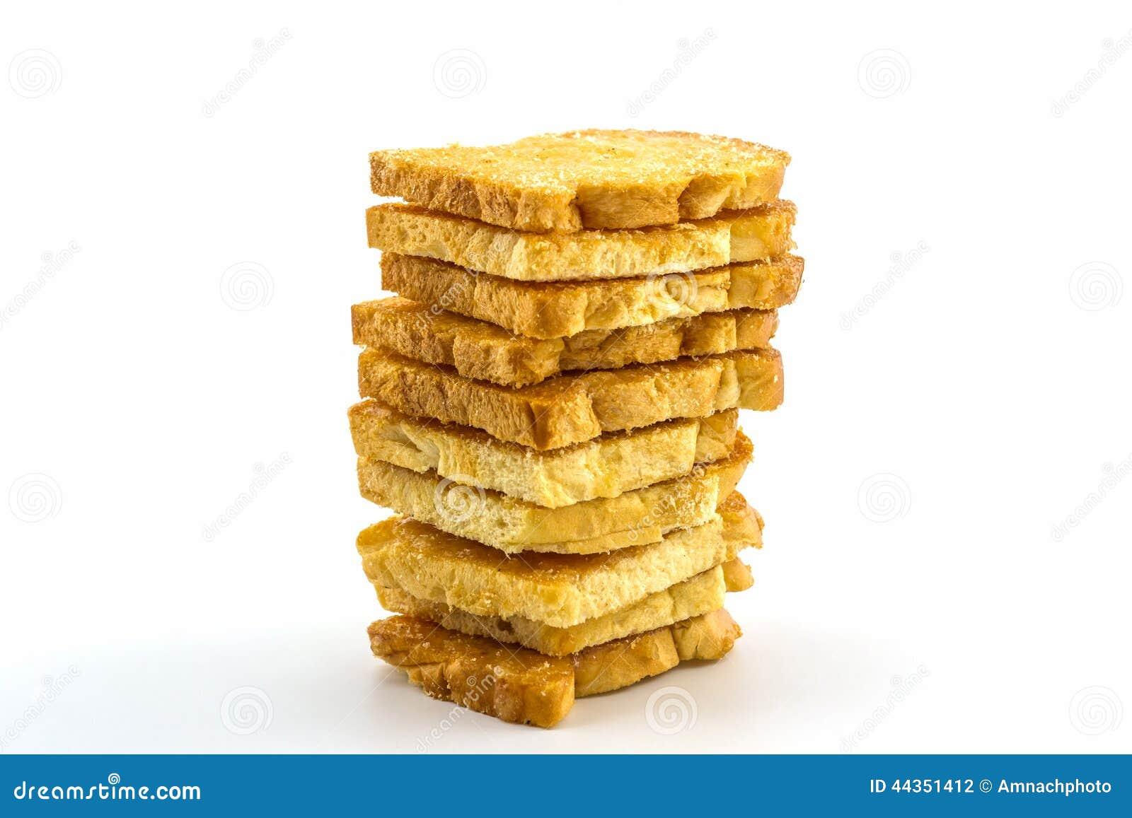 Gruppo di pane affettato