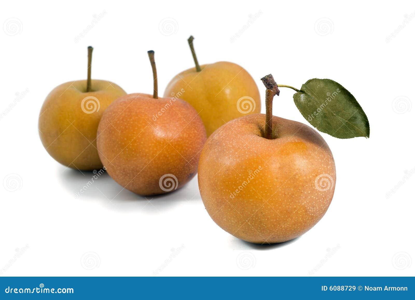 Gruppo di pera di Nashi