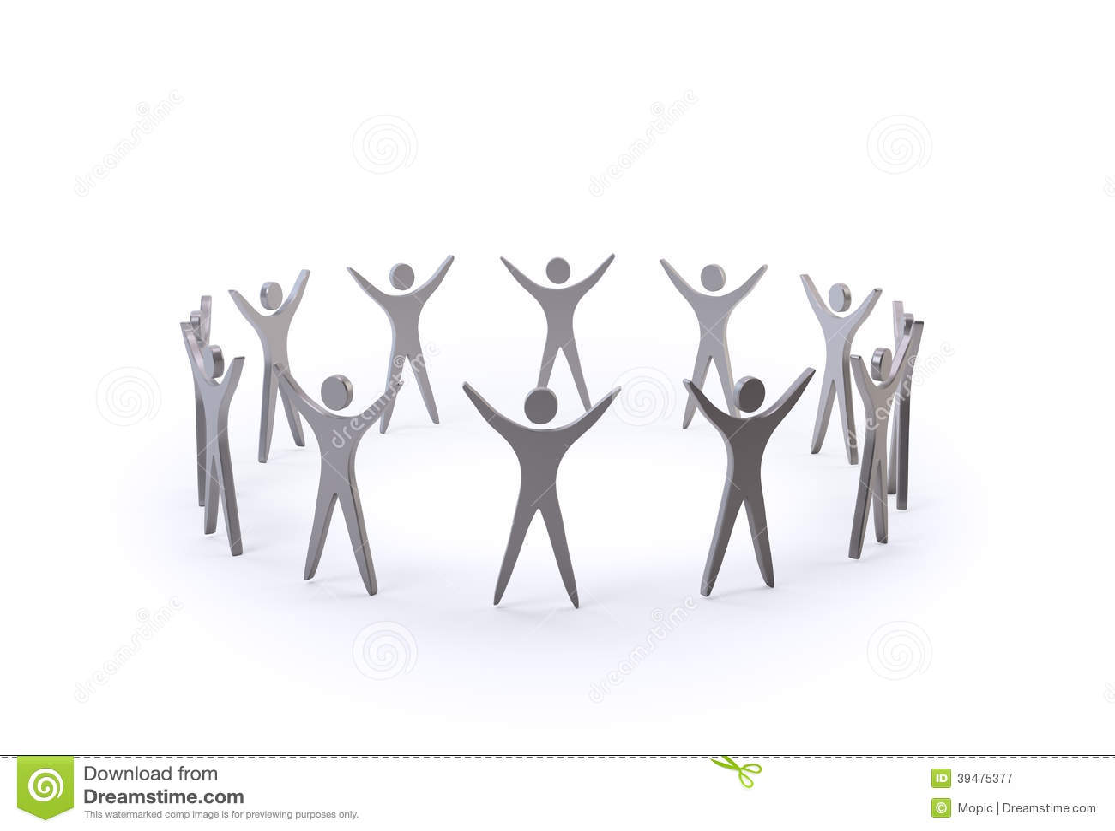 Figure Di Persone Stilizzate.Gruppo Di Persone Stilizzato Illustrazioni Vettoriali E Clipart