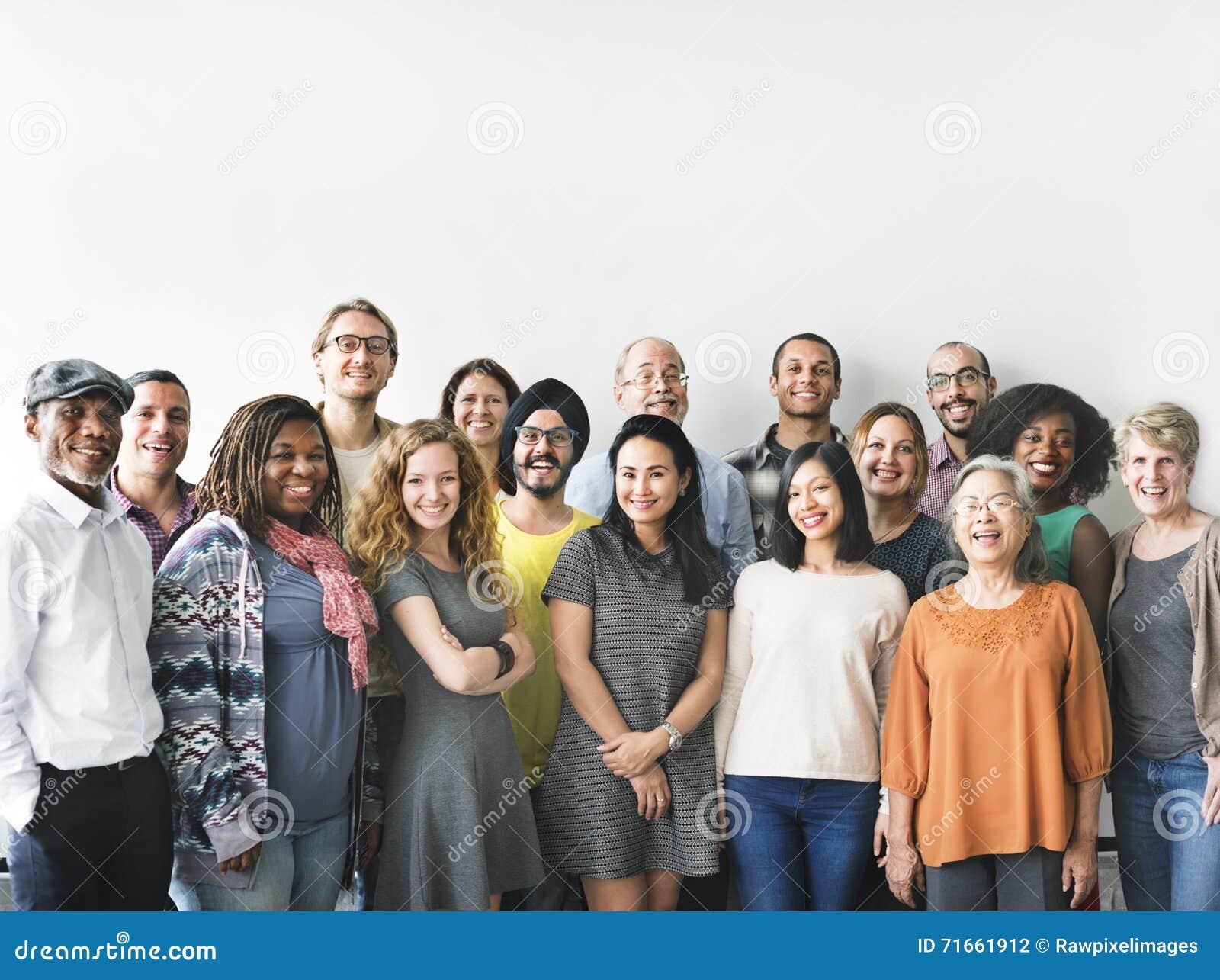 Gruppo Team Union Concept della gente di diversità